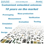 Customized Embedded Antennas